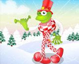 Leggy Frog -