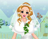 Snow White Christmas Bride -