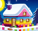 Winter Cottage -