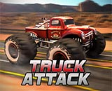 Truck Attack - Truck, Car Racing, Off-road, 3d Car, Adrenaline