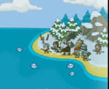 Frozen Island - Action Games, Frozen, Island, Fight