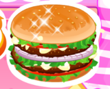 Burger And Fries - Cooking And Decoration Games