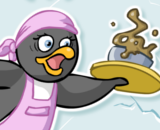 Pinguin Dinner - Pinguin Skill Games