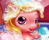 Baby Pony Bath - Pony Skill Games