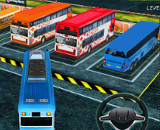 Bus Man Parking 3D - 3D Parking Games Online