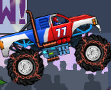 Monsters Wheels - Monster Truck Games For Kids