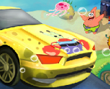 Spongebob Speed Car Racing - Cartoon Racing Games
