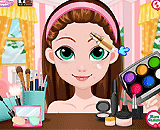 Cherry Christmas Make-up Look - Make-up Games