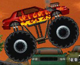 Monster Truck Demolisher - Big Monster Truck Games