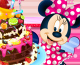 Minnie Mouse Chocolate Cake - Cooking Games For Girls