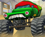 Ninja Monster Trucks - Monster Truck Games For Kids