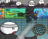 Stick Figure Badminton 2 - Sport Games