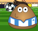 Pou Juggling Football - Football Physics Games