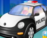 Police Car Wash -