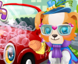 Puppy Car Wash - Car Wash Games