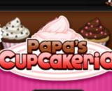 Papa's Cupcakeria  -